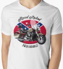 Kawasaki Nomad Road Rebel Mens V-Neck T-Shirt