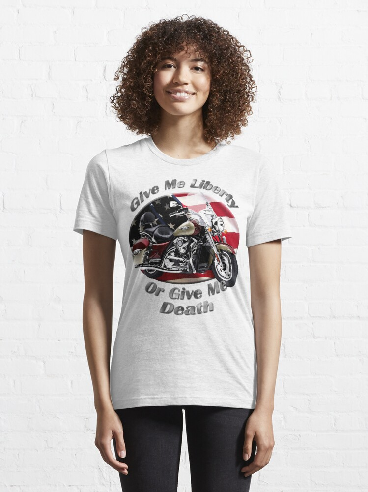 Alternate view of Kawasaki Nomad Give Me Liberty Essential T-Shirt
