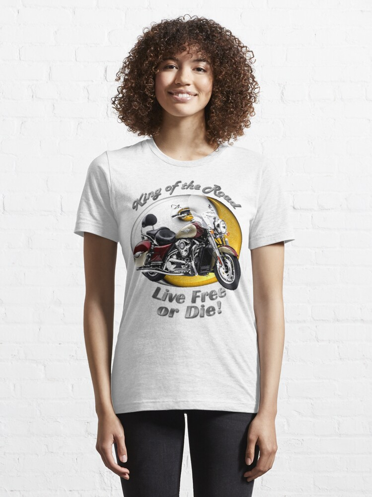Alternate view of Kawasaki Nomad King Of The Road Essential T-Shirt