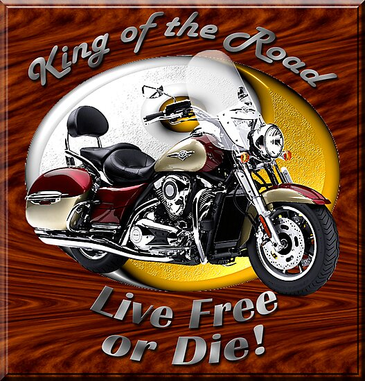 Kawasaki Nomad King Of The Road by hotcarshirts