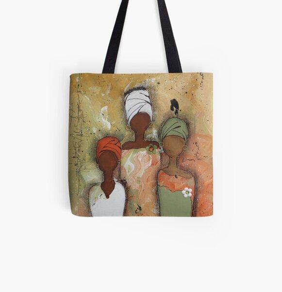 Sisterhood Series 2 All Over Print Tote Bag