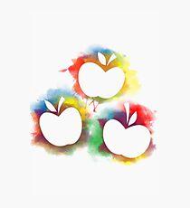 Applejack Poster- Silhouette Photographic Print