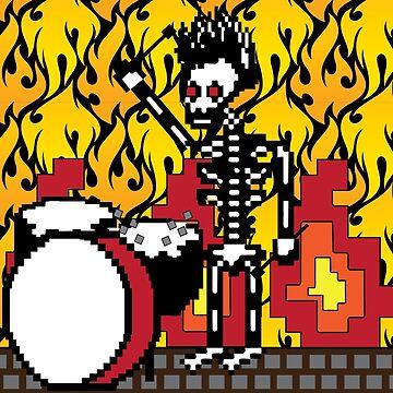 The Dead Drummer by theoriginalfire