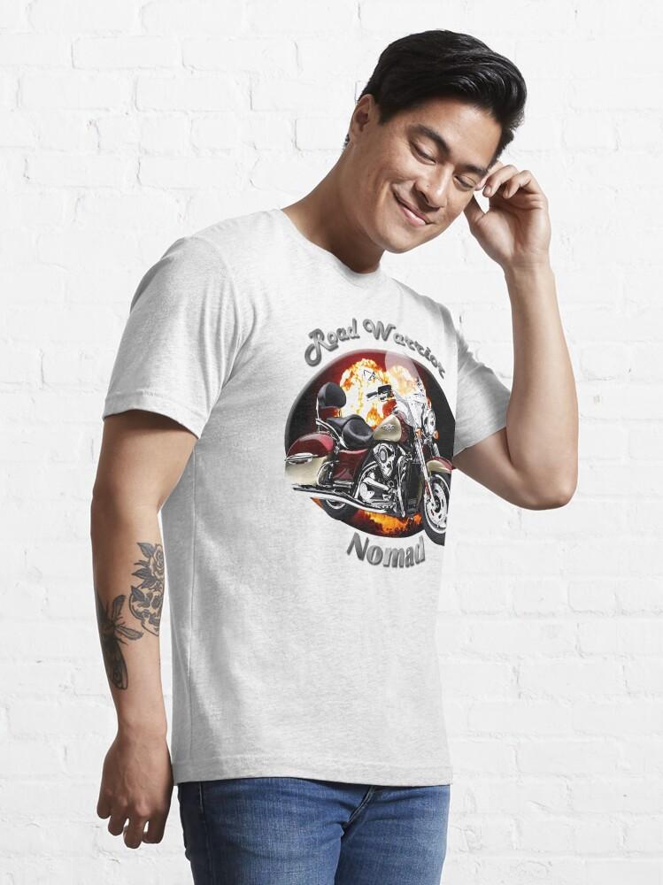 Alternate view of Kawasaki Nomad Road Warrior Essential T-Shirt
