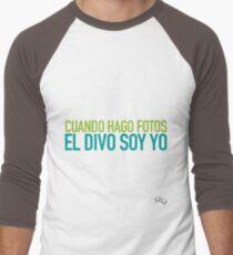 Las Nachisetas #11 - El Divo soy Yo Baseball ¾ Sleeve T-Shirt