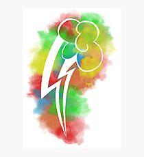 Rainbow Dash Poster Photographic Print