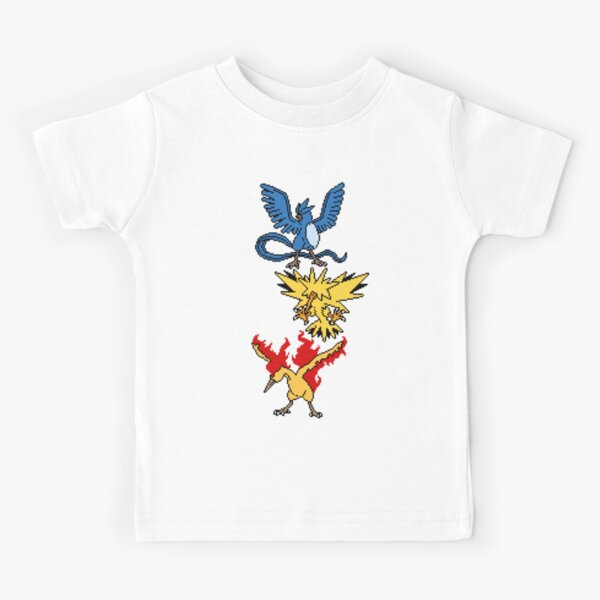 Articuno, Zapdos and Moltres Kids T-Shirt