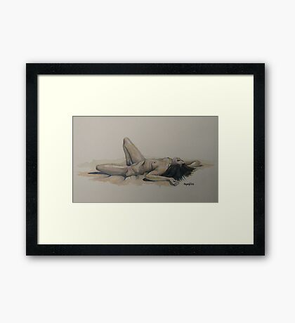 You Oughta Know Framed Print