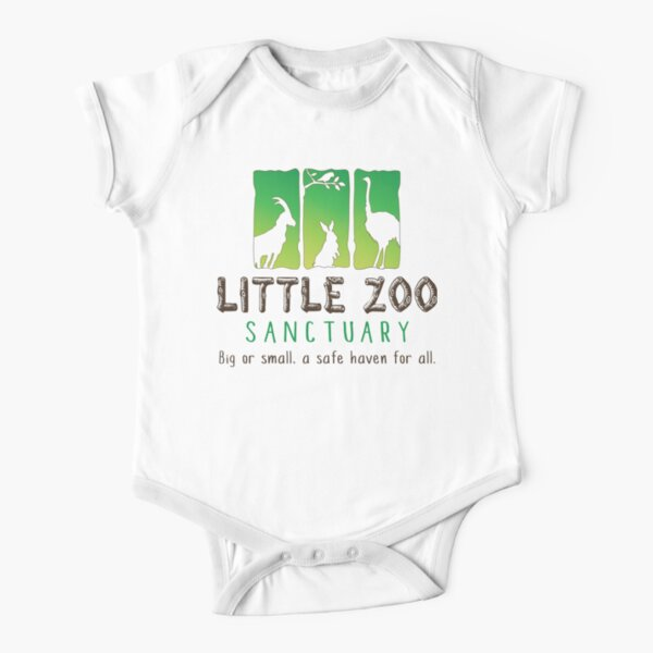 LZS Full Color Short Sleeve Baby One-Piece