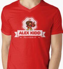 Alex Kidd Men's V-Neck T-Shirt