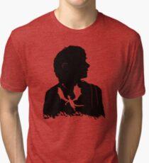 Never laugh at live dragons, Bilbo you fool! Tri-blend T-Shirt