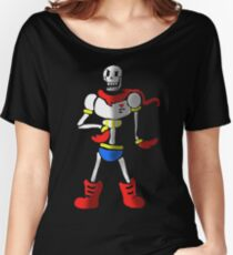 Undertale The Great Papyrus Women's Relaxed Fit T-Shirt