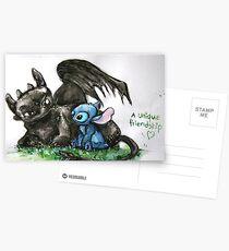 A Unique Friendship Postcards