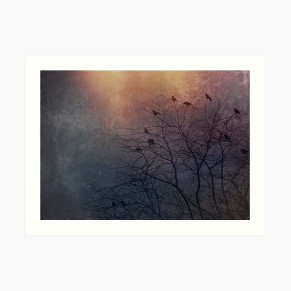 Winter Is Coming - Crows Art Print
