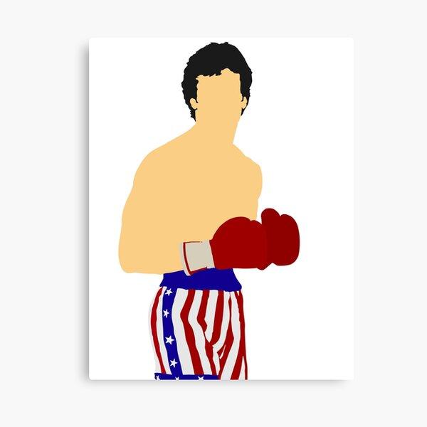 Rocky Balboa Impression sur toile