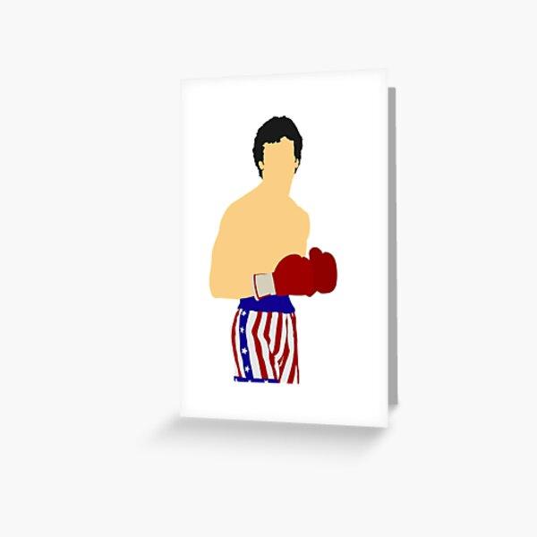 Rocky Balboa Carte de vœux