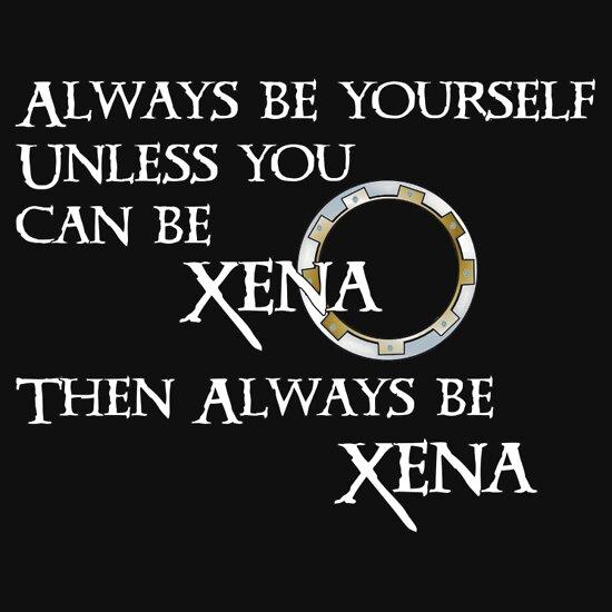 TShirtGifter presents: Be Xena   Women's T-Shirt