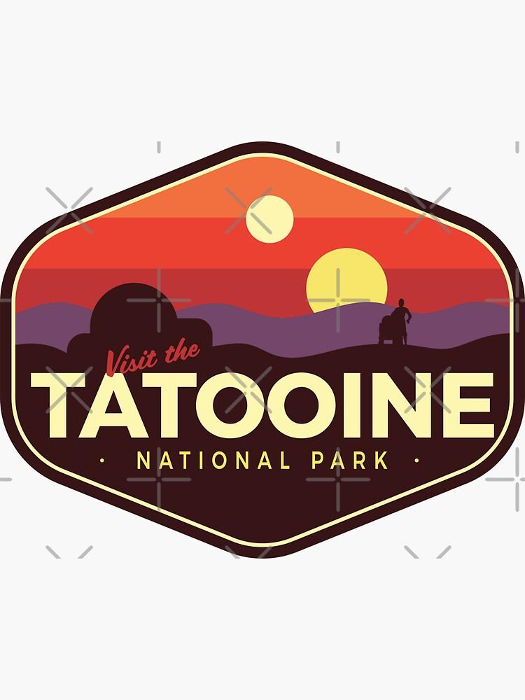 «Parc national de Tatooine» par Outpost31Design
