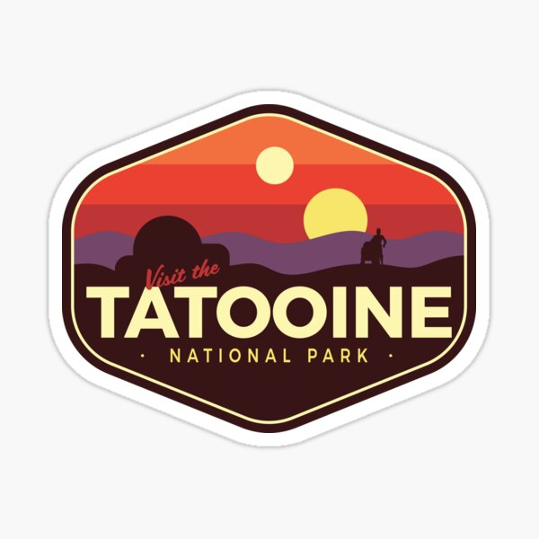 Tatooine National Park Sticker