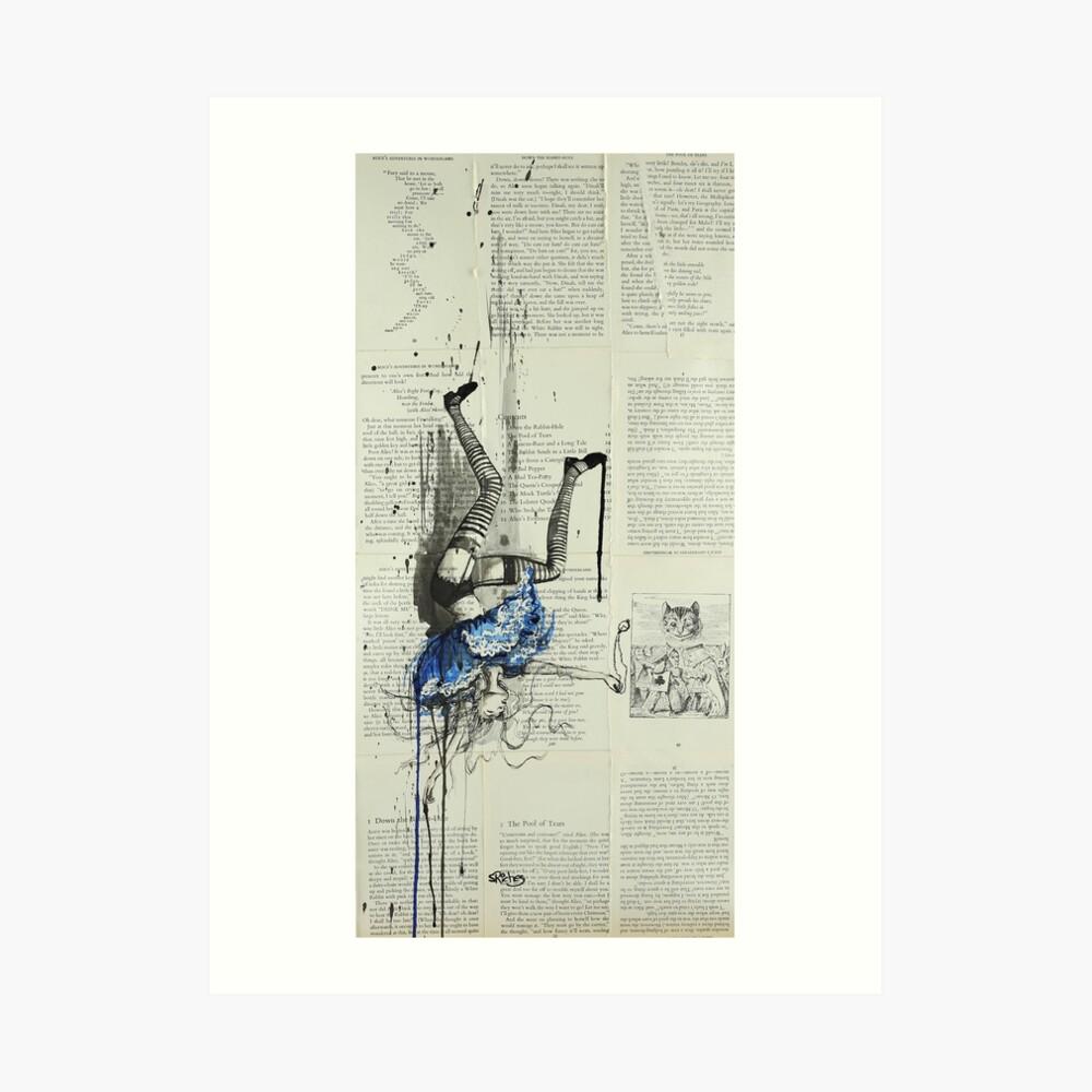 Down the Rabbit Hole Kunstdruck