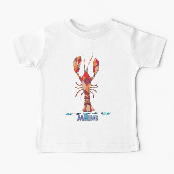 Red Maine Lobster #1 Baby T-Shirt