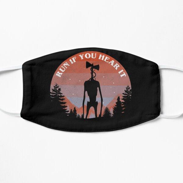 Siren Head Run If You Hear It Flat Mask