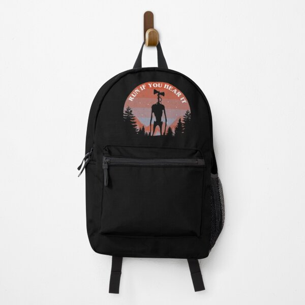 Siren Head Run If You Hear It Backpack