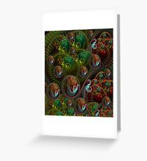 Magical World of Nightingales Greeting Card