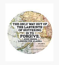 The Labyrinth of Suffering Photographic Print