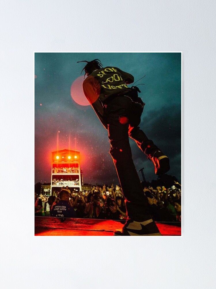 Alternate view of Travisscott Concert Poster