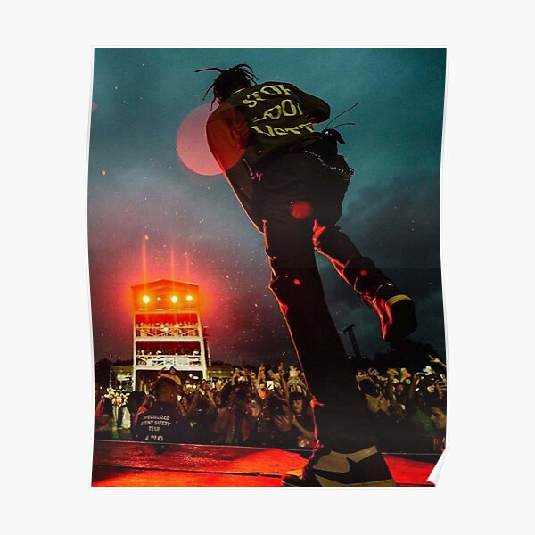 Travisscott Concert Poster