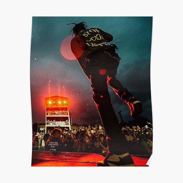 Concert de Travisscott Poster