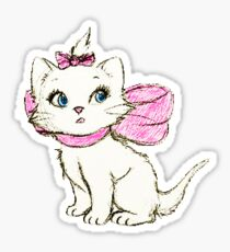 Bow Cat Sticker