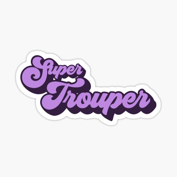 Super Troupeur Sticker