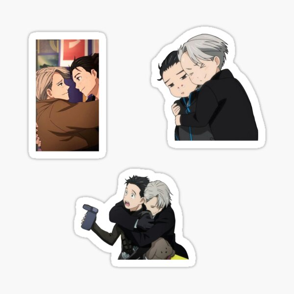 Victor and Yuri Pack Sticker