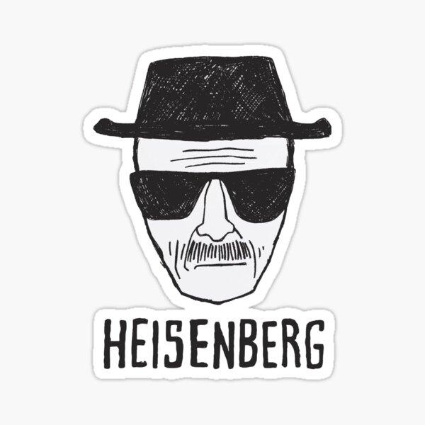 Breaking Bad / Dibujo de Heisenberg Pegatina