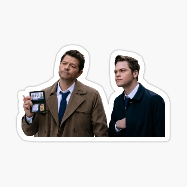 father and son duo  Sticker