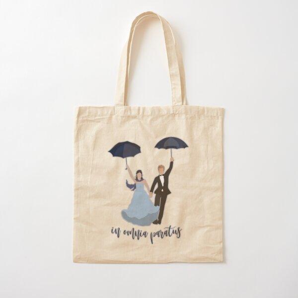 In Omnia Paratus Drawing  Cotton Tote Bag