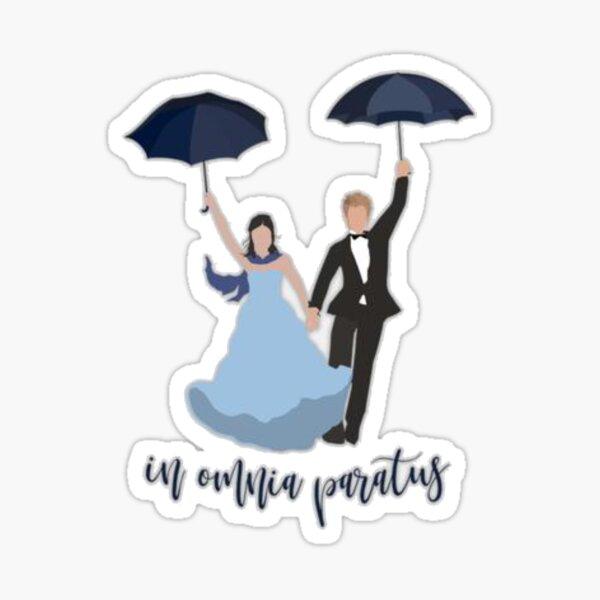 In Omnia Paratus Drawing  Sticker