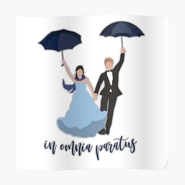 In Omnia Paratus Drawing  Poster