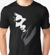 Mysterious with Cheekbones Unisex T-Shirt