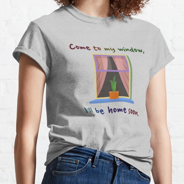 Come To My Window - Melissa Etheridge Design Classic T-Shirt