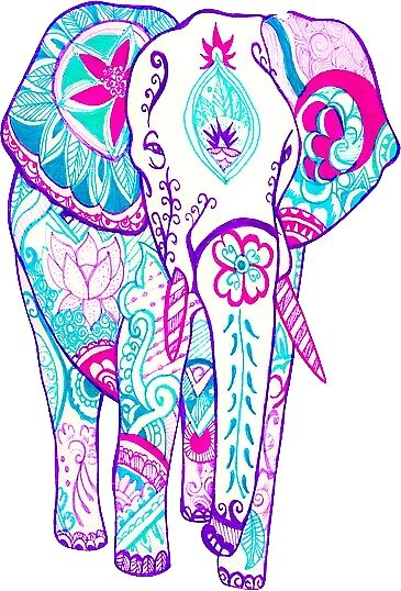 tribal elephant iphone wallpaper