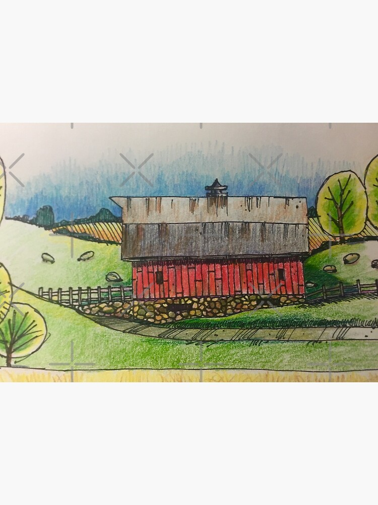 Country Barn by Russ Fagle by magichammer