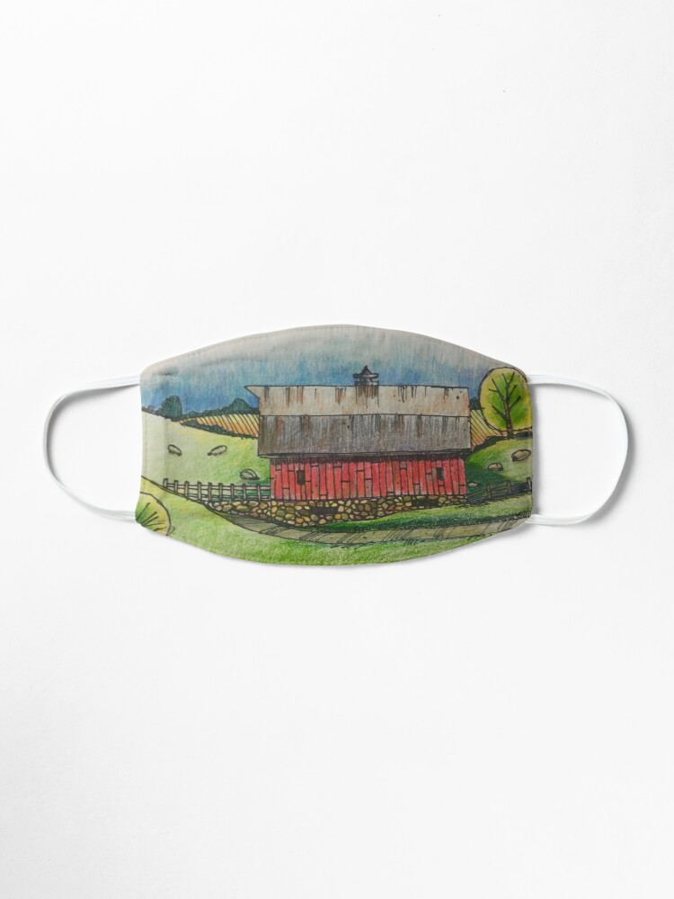 Alternate view of Country Barn by Russ Fagle Mask