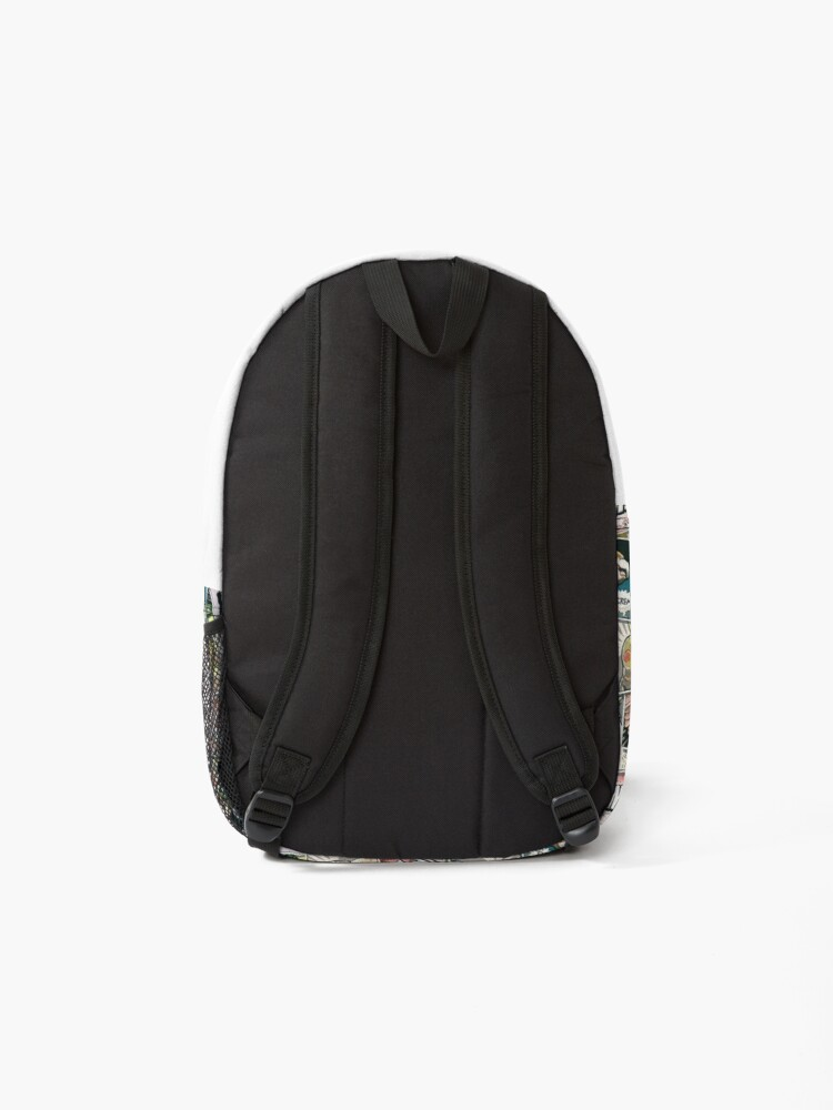 Alternate view of Parrots Comic Style Backpack
