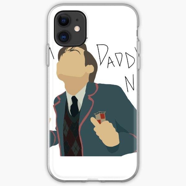 Nummer fünf   Ich bin jetzt der Papa iPhone Flexible Hülle
