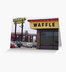Waffle House near St. Louis Greeting Card