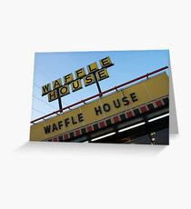 Waffle House, Piedmont Road, Atlanta Greeting Card