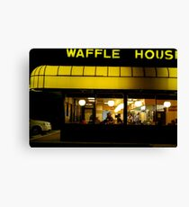 Waffle House, Fort Myers, Florida Canvas Print